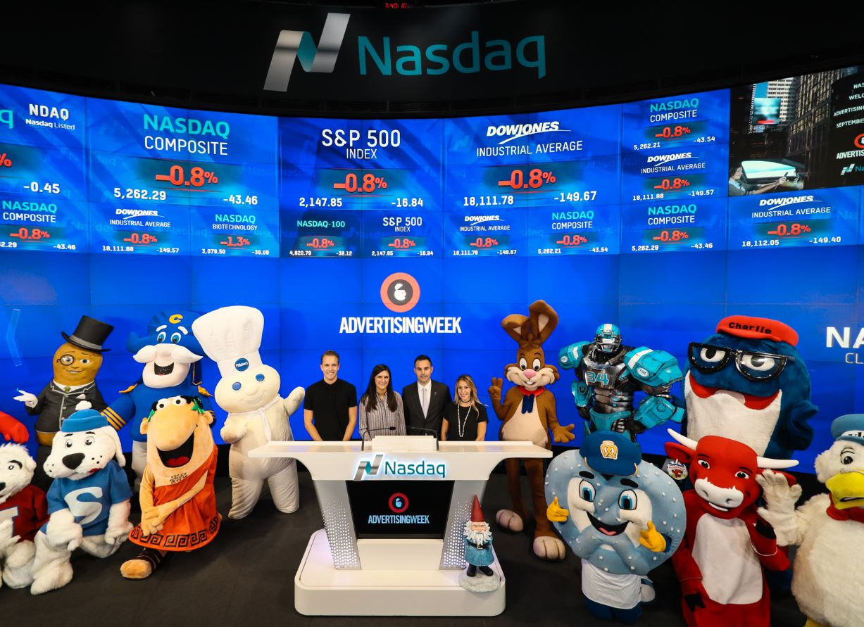 The Laughing Cow brand at NASDAQ