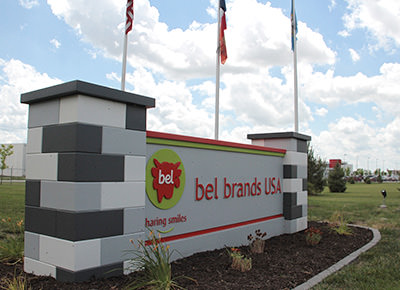 Bel Brands USA sign